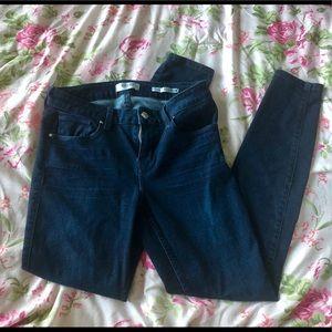 Guess dark blue jeans